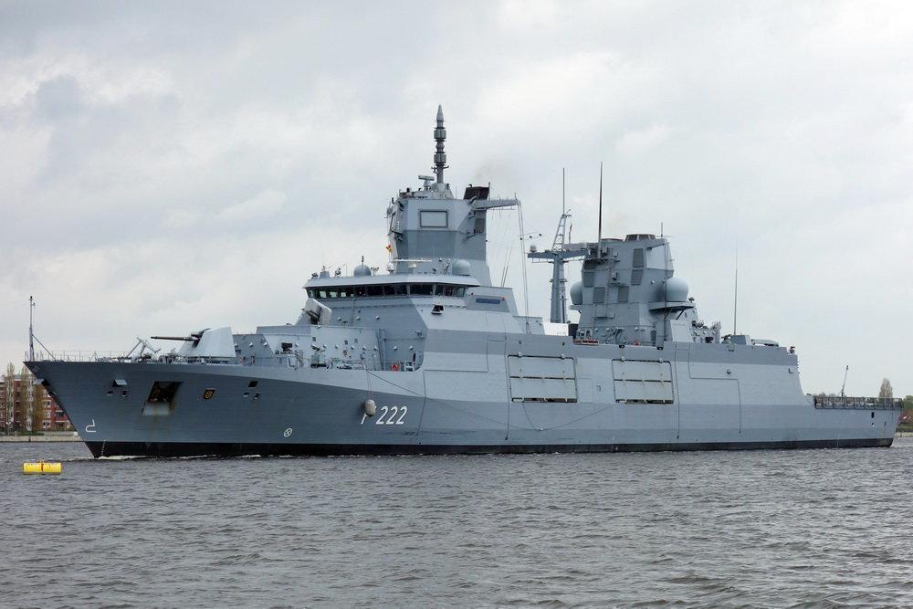 Новейший немецкий фрегат провалил испытания