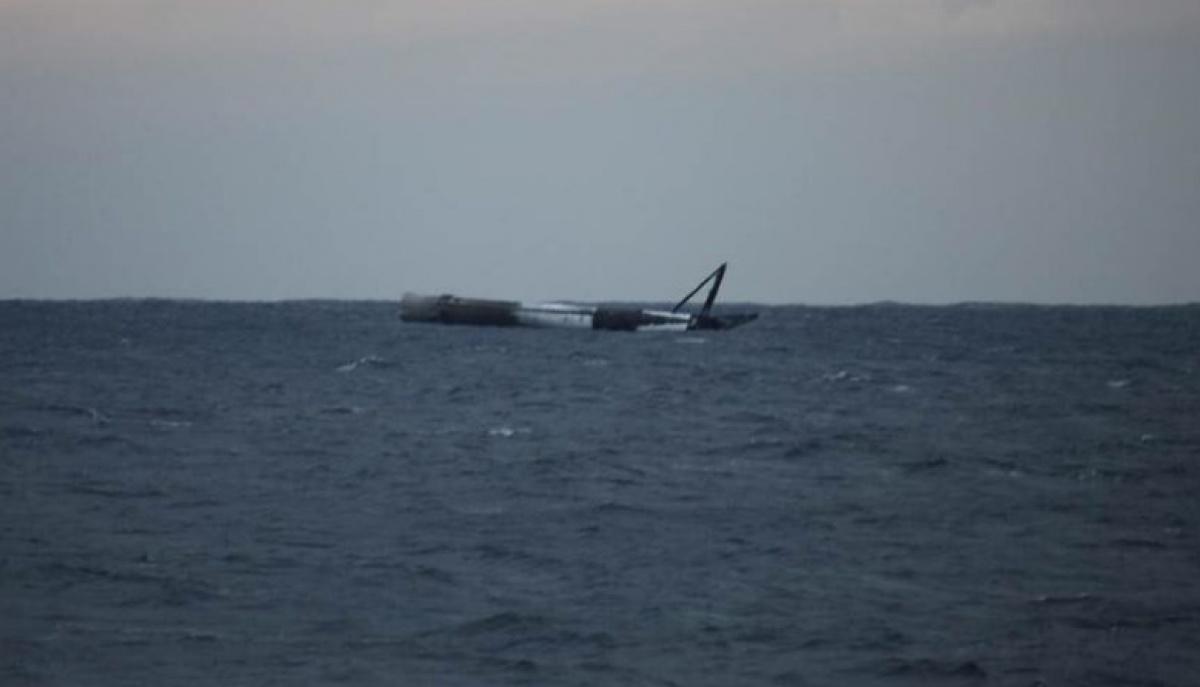 Американские ВВС  уничтожили ракету-носитель Falcon 9 Falcon, океане, ракеты, Space, авиаудар, нанести, безопасности, соображений, решение, приняли, новость, уничтожить, берег, аппарат, вернуть, знала, поскольку, поверхности, военные, Интересно