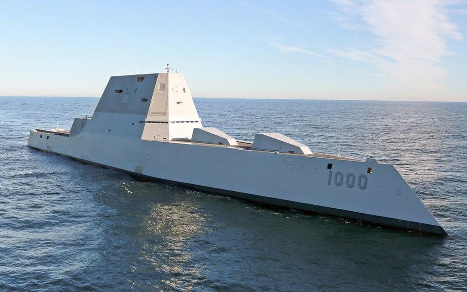Пентагон передумал на счет эсминцев Zumwalt