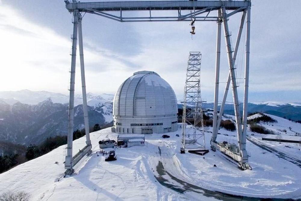 Зеркало для самого большого телескопа в Европе