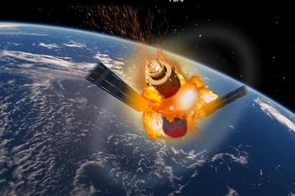 Через месяц космическая станция рухнет на землю
