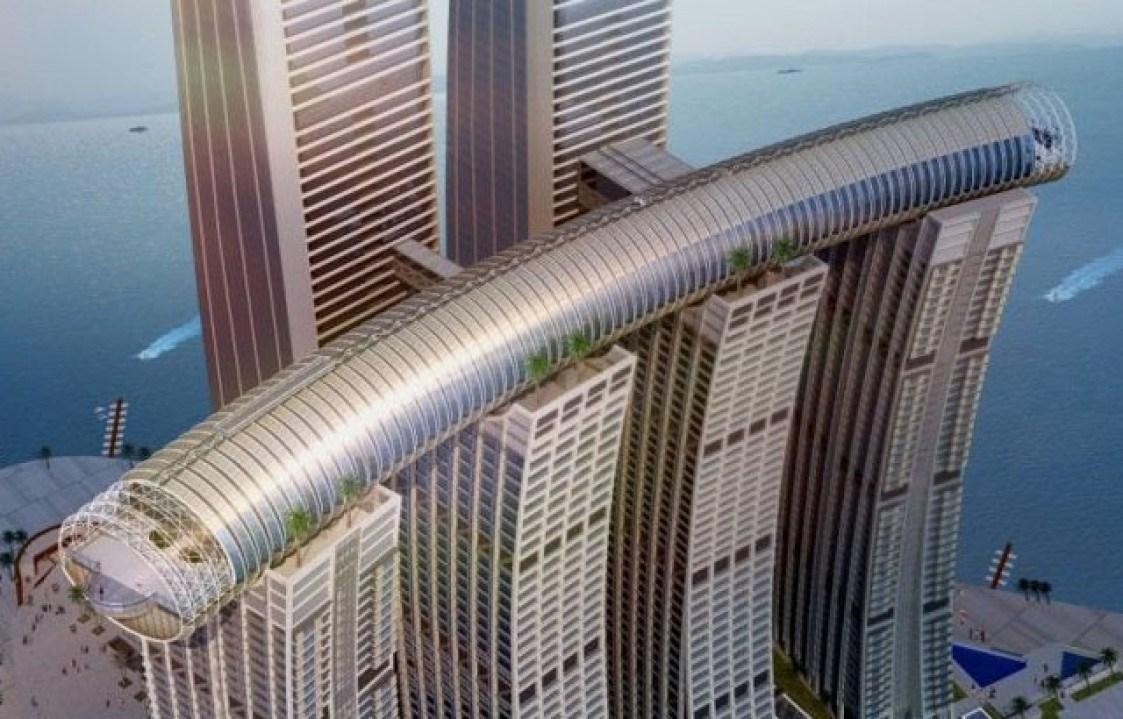 Горизонтальный небоскреб будет, «Conservatory», проект, горизонтального, конструкция, метров, высоте, строительство, строительных, зданий, четырех, небоскреба, Взять, китайцы, интересных, ровно, многочисленные, возведен, списку, этому