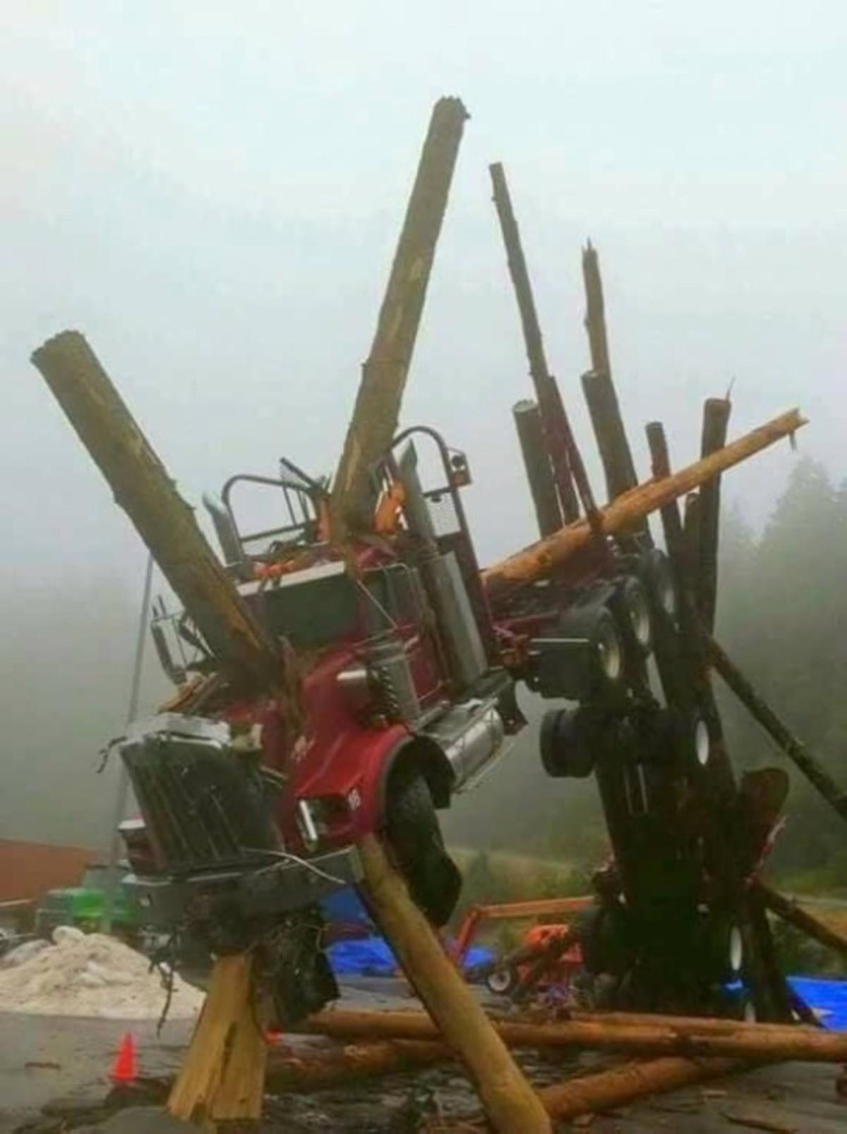 Что случилось с грузовиком?