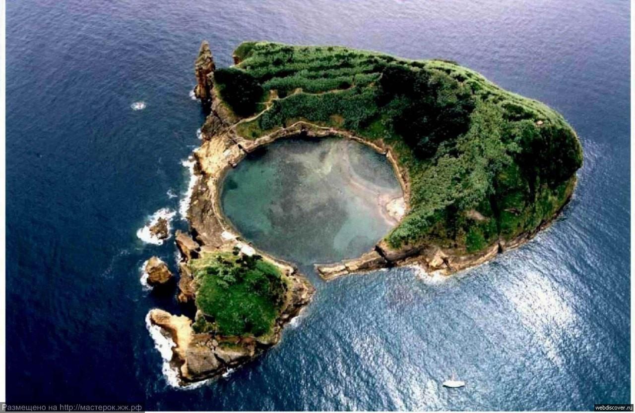 Вила-Франка  — необитаемый вулканический остров в составе Азорских островов