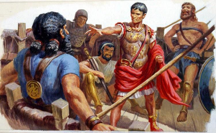 Как Юлий Цезарь попал в плен к пиратам