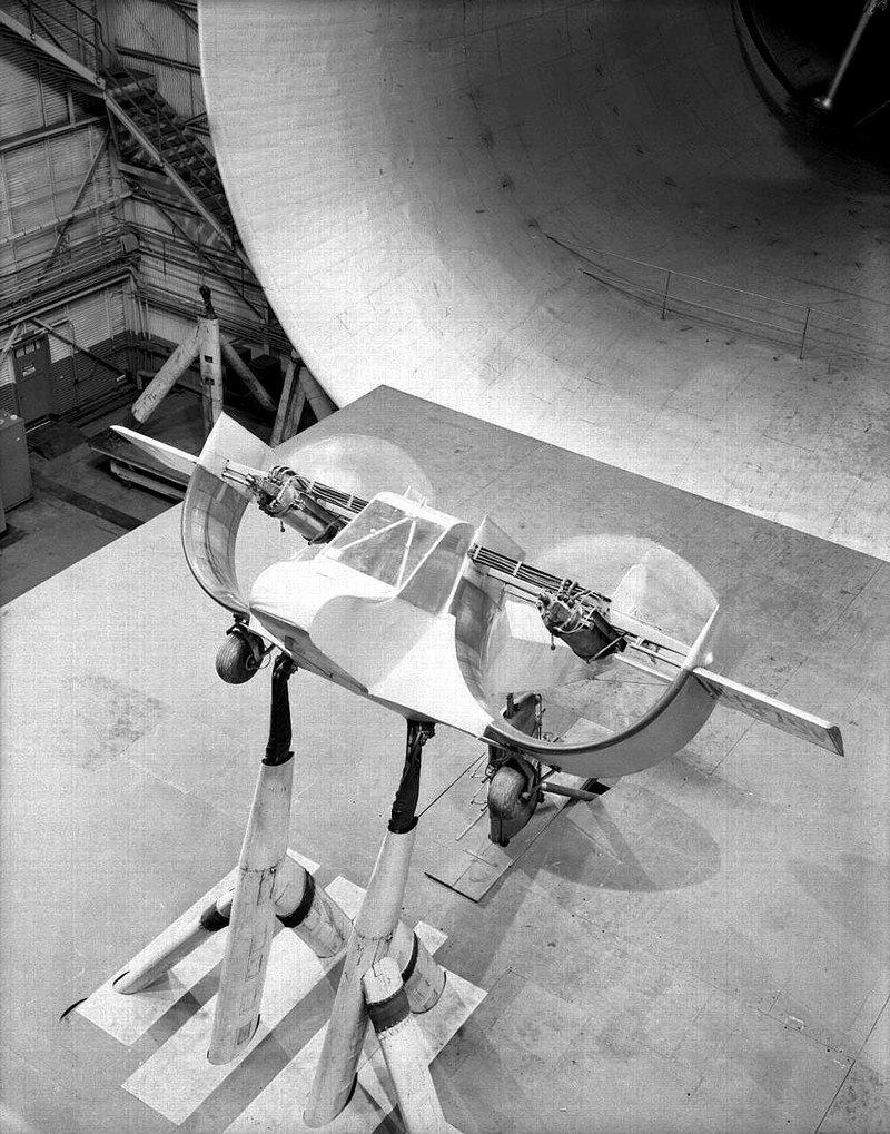 Кастер самолёт с арочным крылом