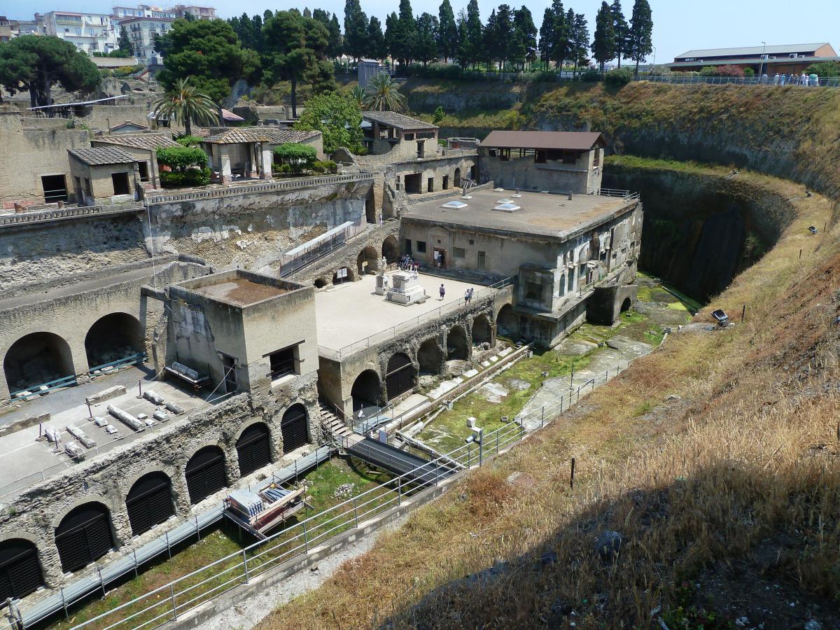 Геркуланум - сосед Помпеи
