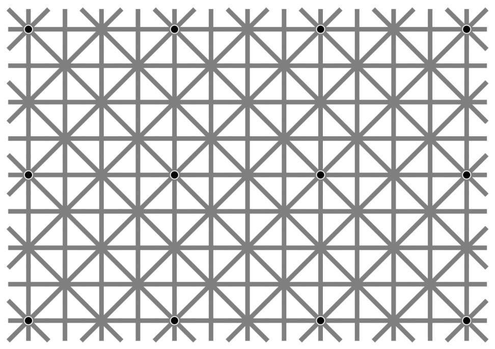 Сколько точек вы видите на рисунке?