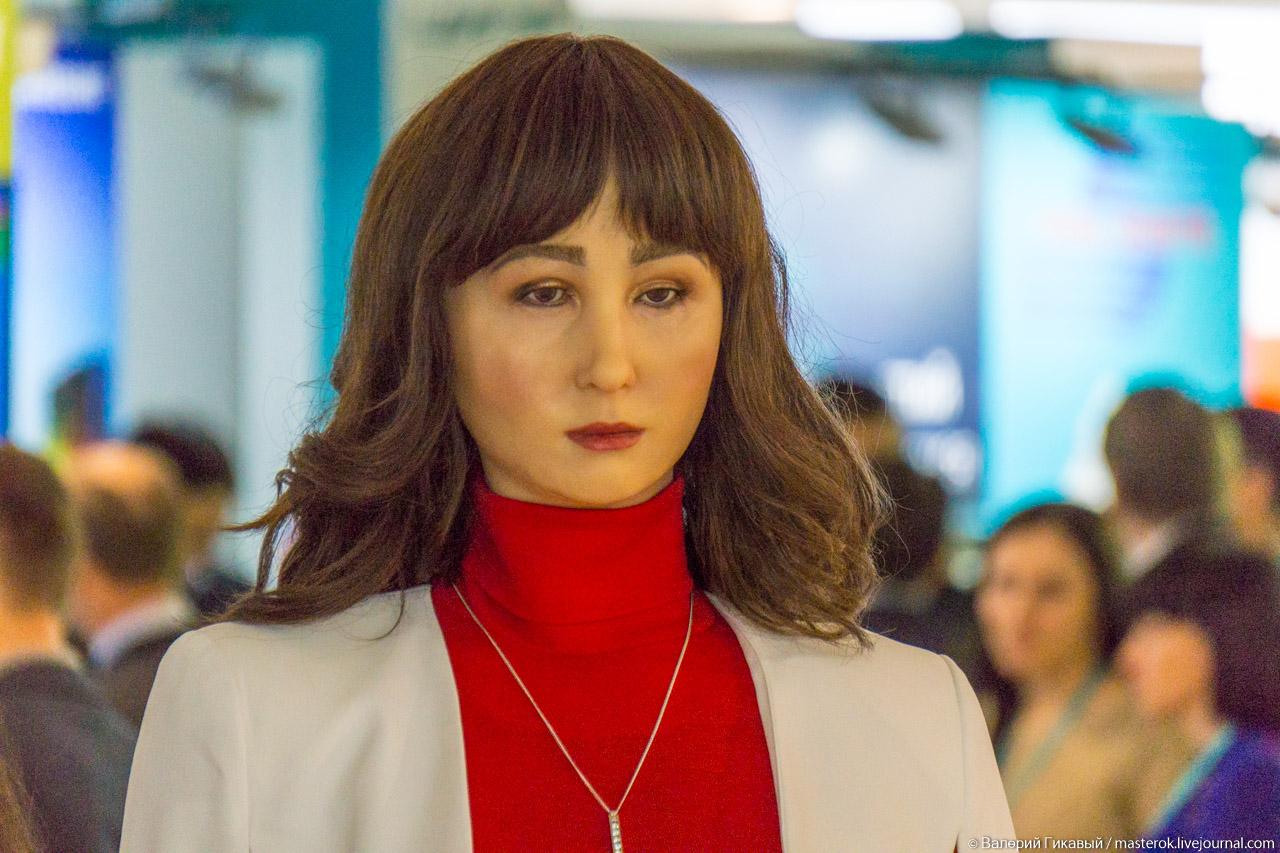 Робот Алиса на ЦИПР 2018