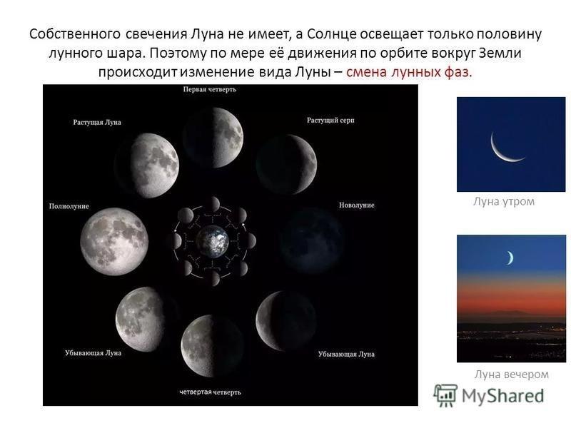 Как вращается луна относительно земли