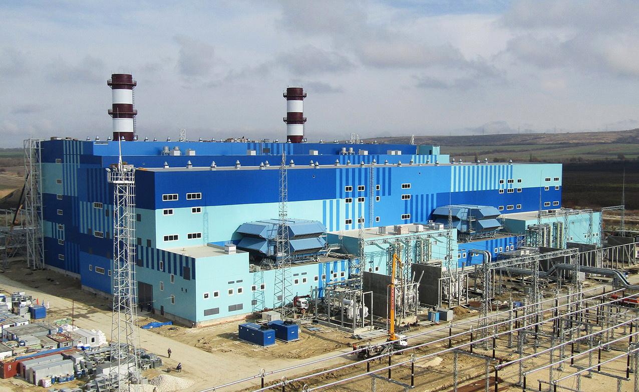 Турбины Siemens начали работу в Крыму