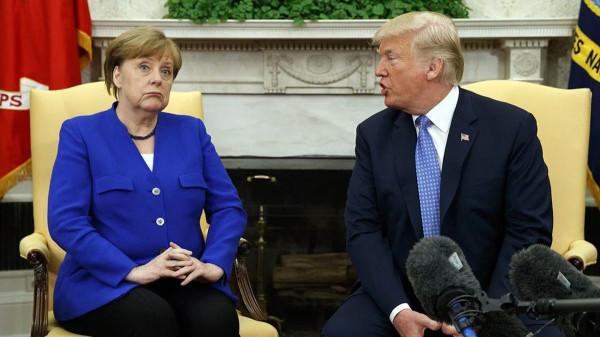 Германия оккупирована США, но контролируется Россией