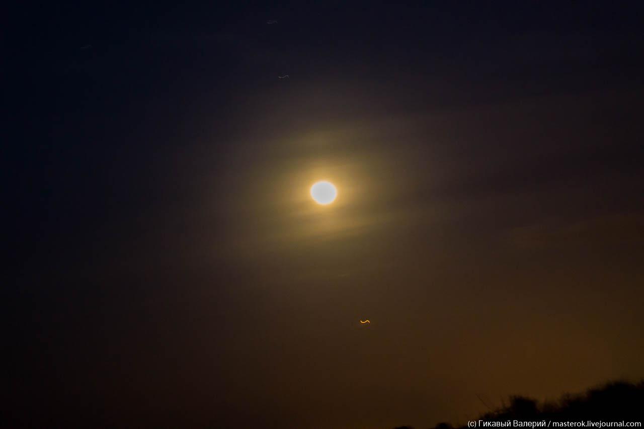 Лунное затмение и чесночная рыбалка