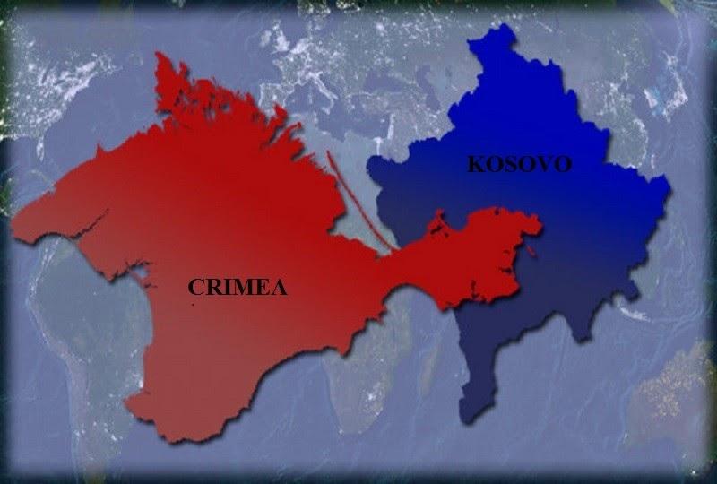 А чем теперь отличается ситуация с Косово от Крыма?