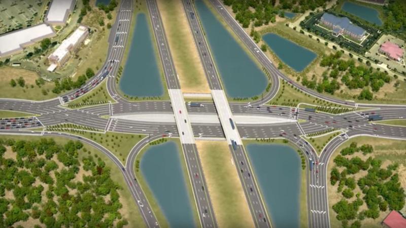 Новая концепция перекрестка на шоссе