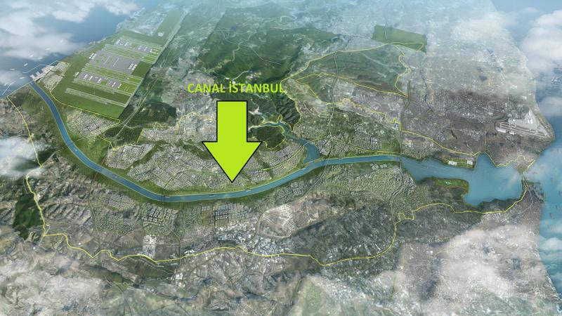 план канала «Стамбул»