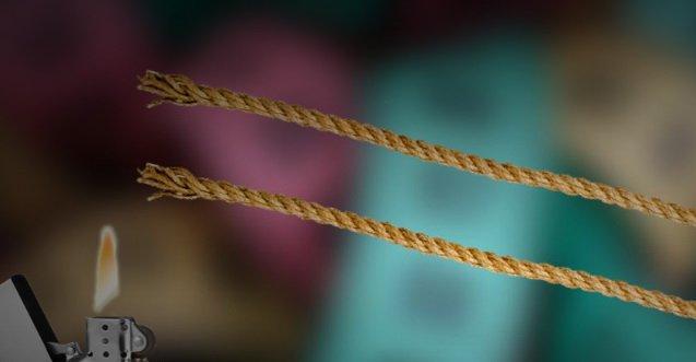Задачка про горящие веревки