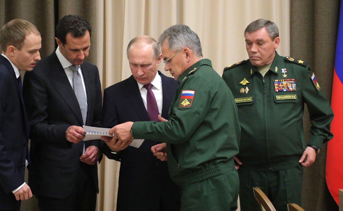 "Начались шаги Путина в Сирии ""которые заметят все"""