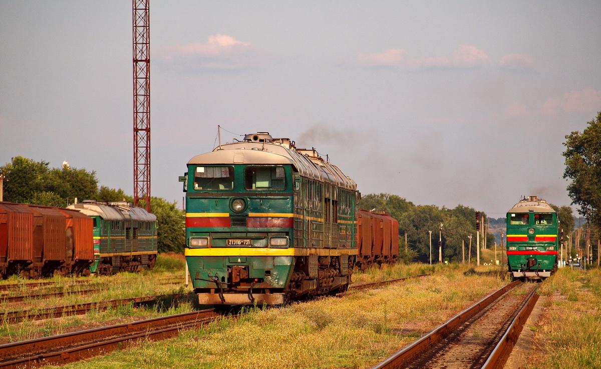 На Украине 8 лет нет ни одного нового локомотива.