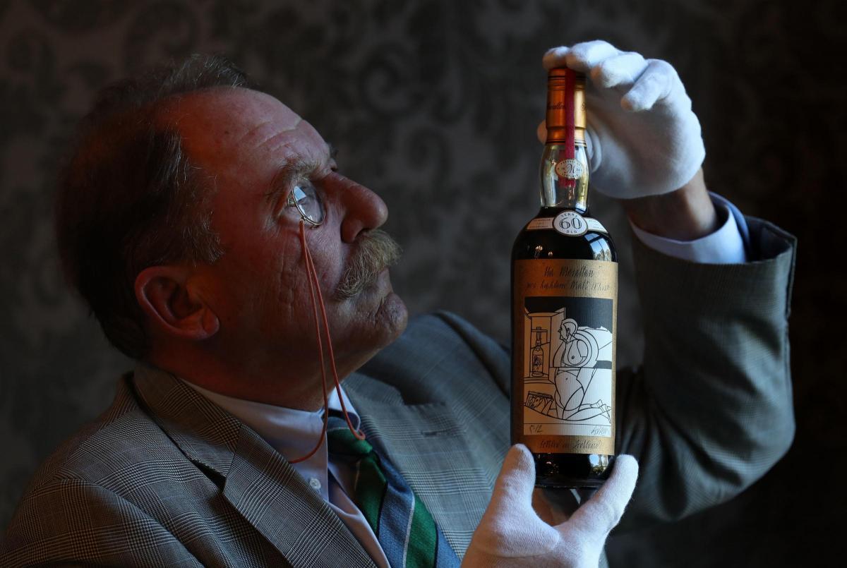 Продали самую дорогую бутылку виски в мире