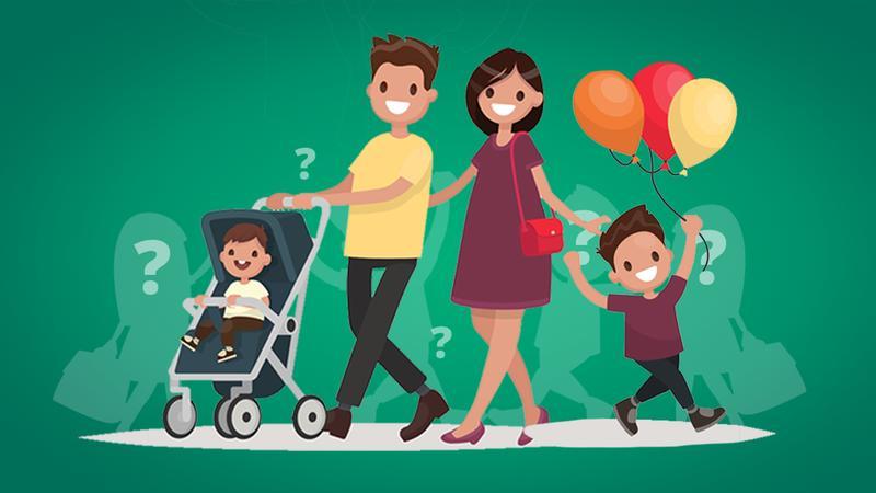 Посчитайте, сколько детей в семье?