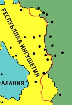 Захватила ли Чечня часть Ингушетии?