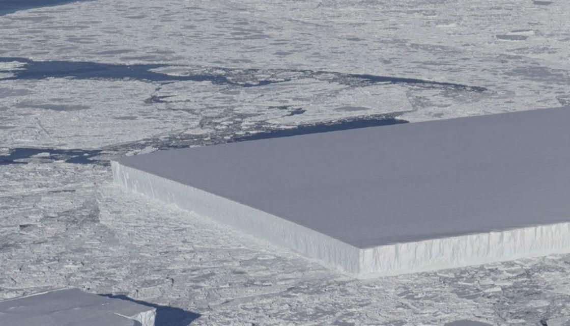 Реален ли прямоугольный айсберг?