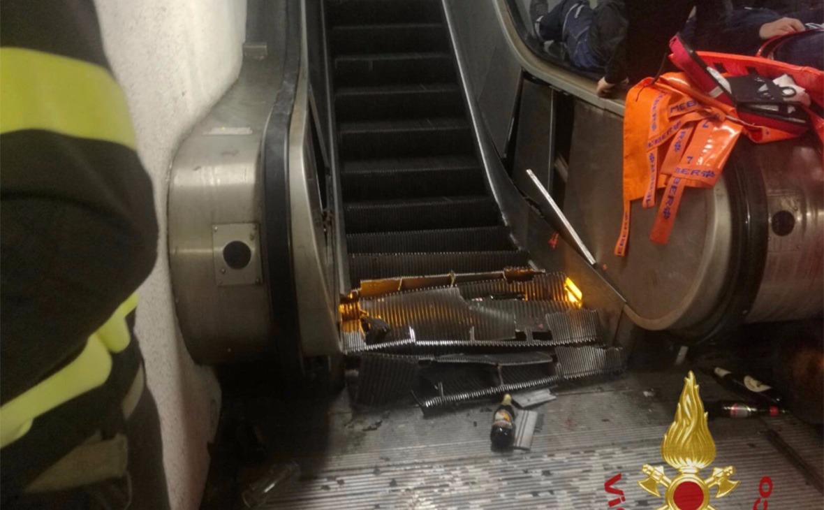 Почему происходит обрушение эскалатора?