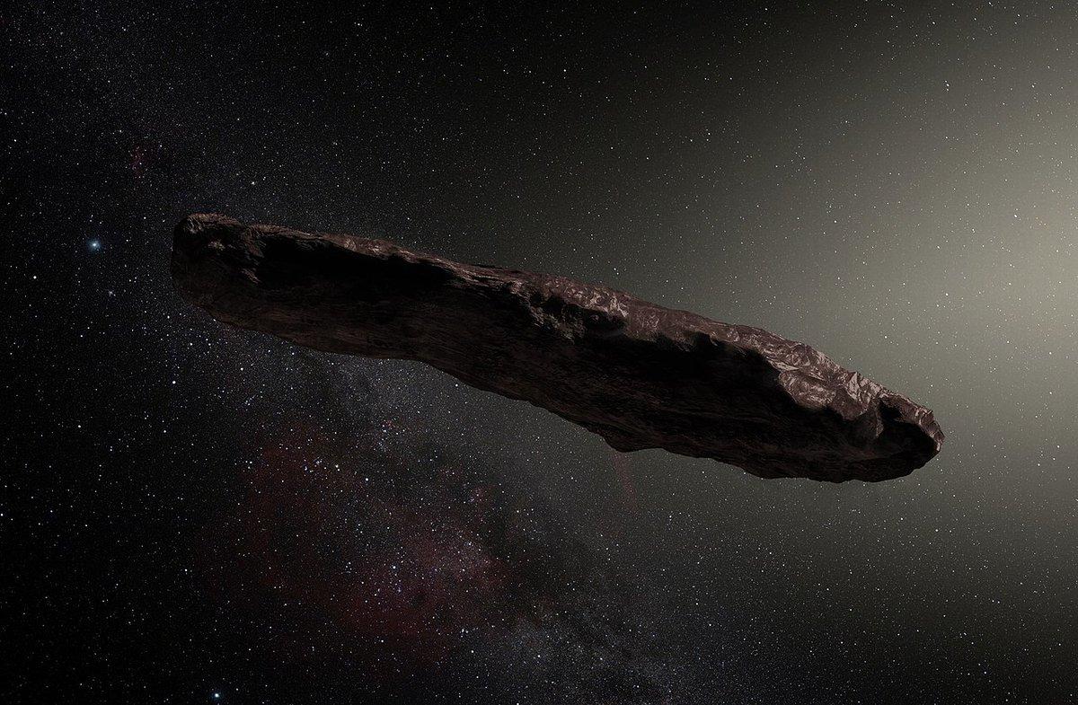 Космический объект Оумуамуа может иметь искусственное происхождение