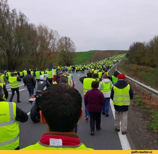Во Франции 200 тыс. человек протестуют против подорожания бензина. А что в России?