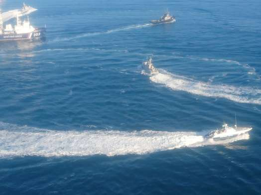 Украина нарывается в Азовском море