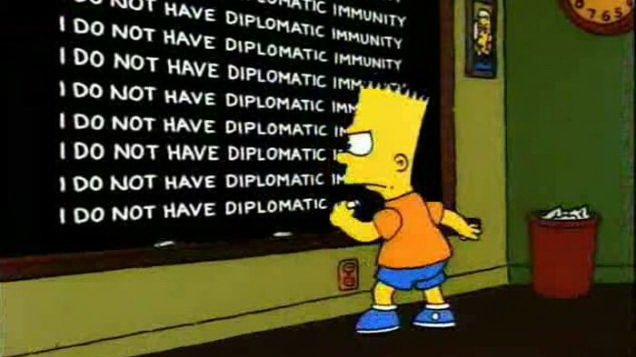 Действительно ли дипломаты могут избежать ответственности за убийство?