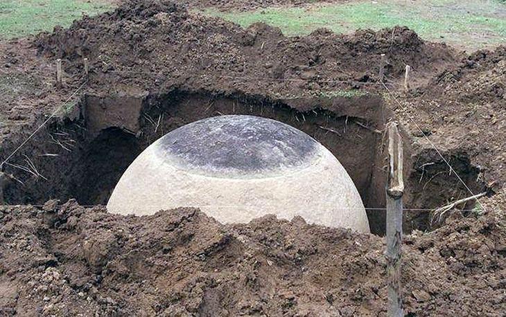 В Коста-Рике найден сферический камень