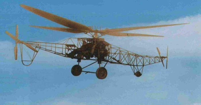 Первый советский вертолет