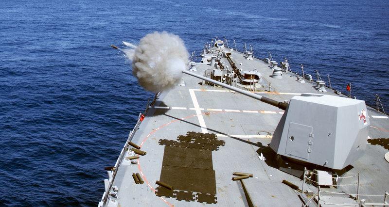 В США испытали гиперзвуковые снаряды