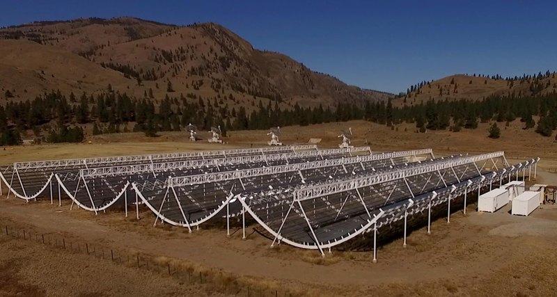 Обнаружен мощный радиосигнал из глубин космоса