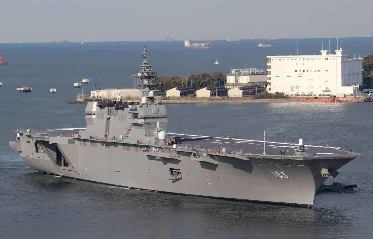 Сильны ли военно-морские силы Японии? самообороны, «Сорю», «Идзумо», версия, оснащенные, субмарин, аналог, «Оясио», американских, американского, эсминцы, корабли, «Атаго», корабля, Япония, всего, вертолетоносца, имеет, водоизмещение, новой