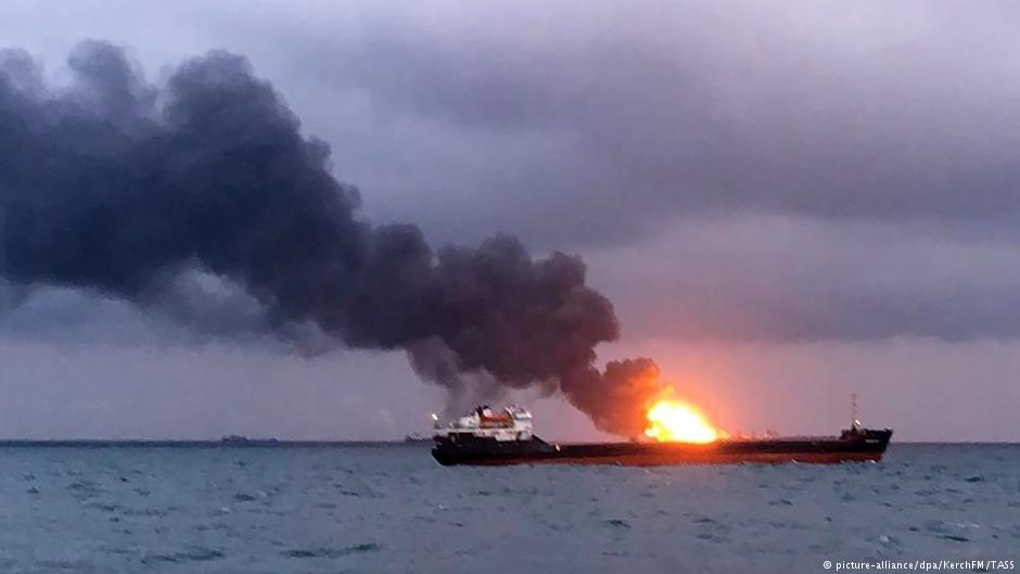 Почему сгорели два танкера в Керченском проливе
