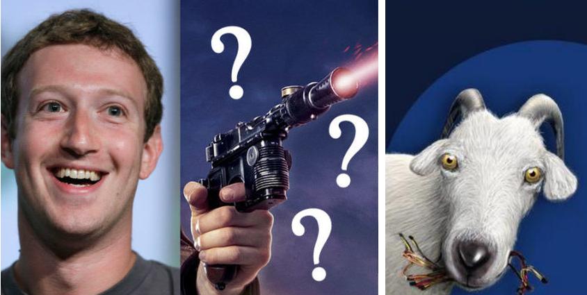 Цукерберг убил козу из «лазерного пистолета»?