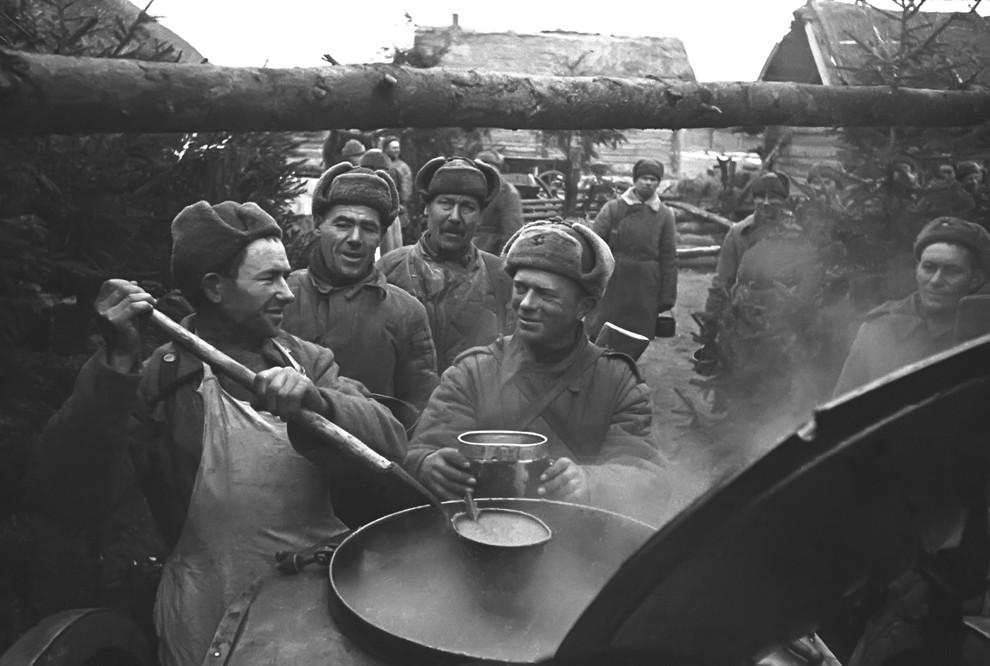 Что ели солдаты во время Великой Отечественной войны