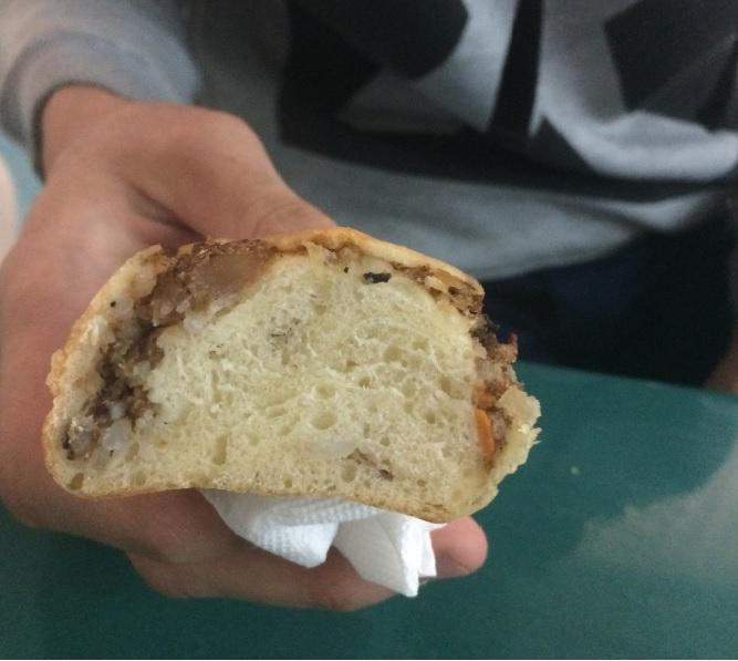 Булочка с мясом или мясо с булочкой