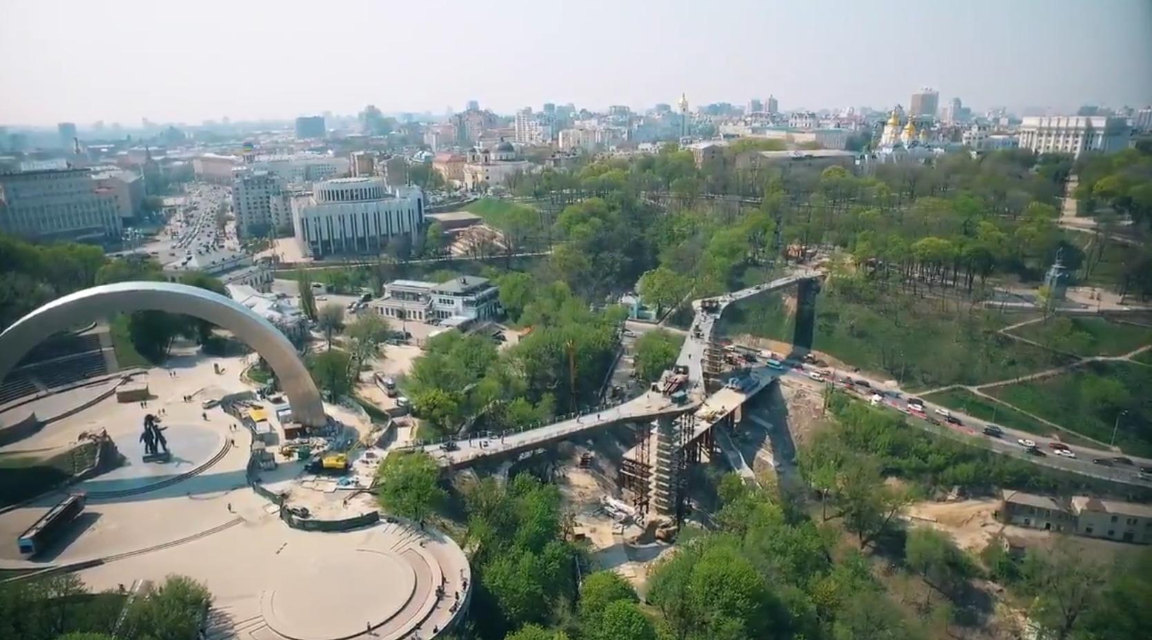 Как киевские власти мост украли