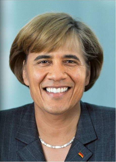 Барака-Абама-Меркель