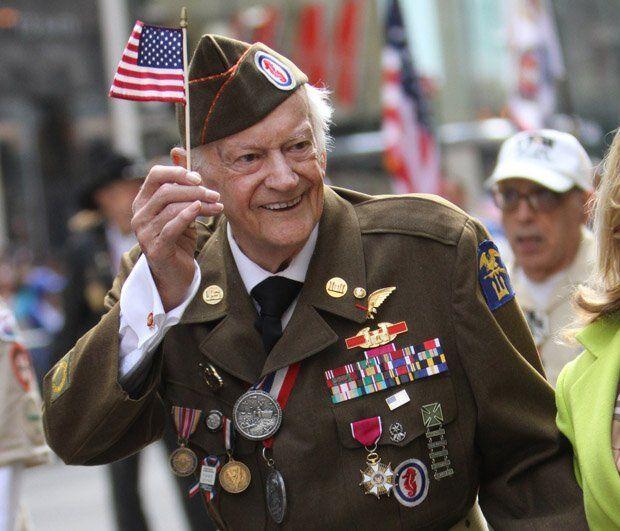 Вторая мировая война глазами ветерана США