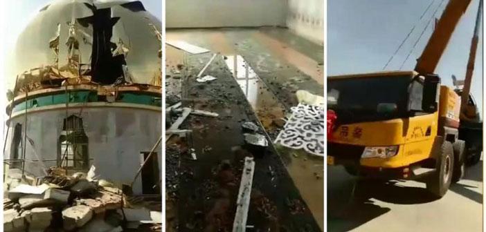 Почему в Китае массово сносят мечети?