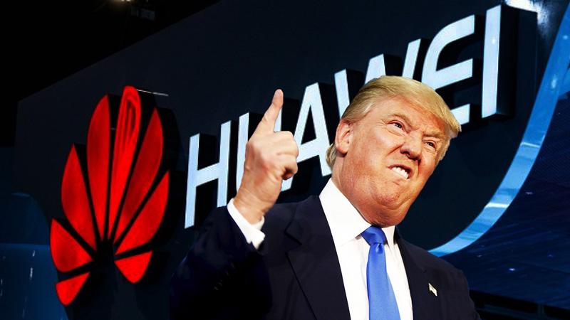 Трамп отобрал у Huawei Android, а теперь отбирает и процессор