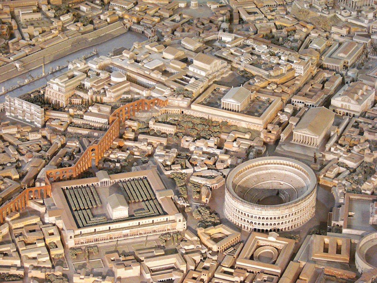 Самая точная копия Древнего Рима