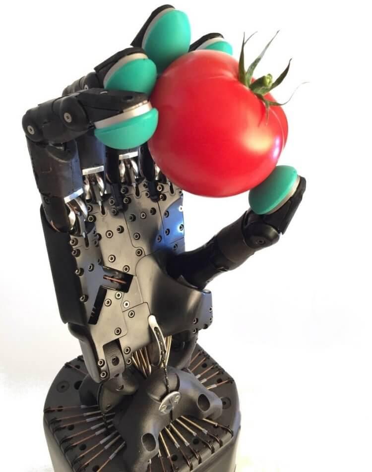 Эта роботизированная рука способна передавать тактильную связь