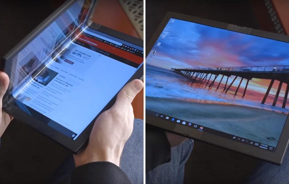 Гибкий планшет  Lenovo