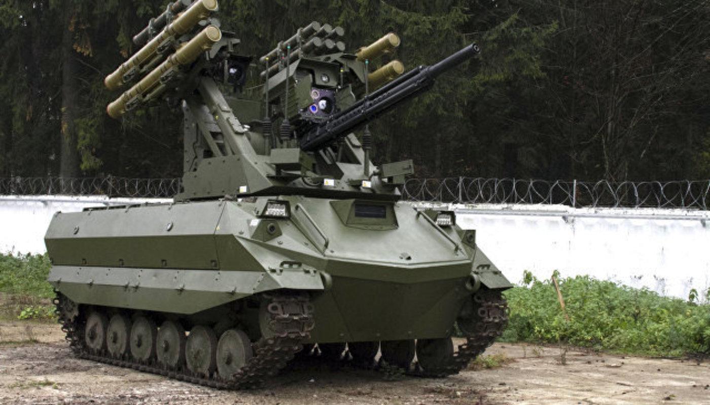 Российские боевые роботы идут на экспорт